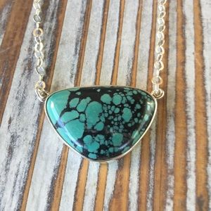 Navajo Turquoise & Sterling Silver Necklace